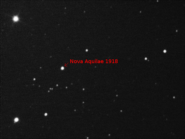 The remnants of nova on 5th August 2018