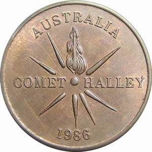 Comet Halley 1986 world